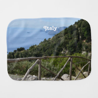 Path of Gods Amalfi Burp Cloth