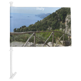 Path of Gods Amalfi Car Flag
