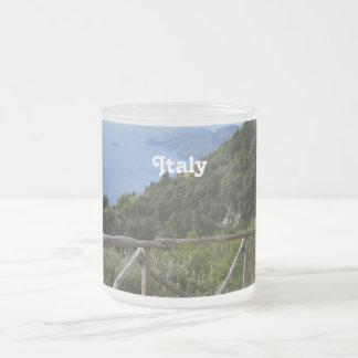 Path of Gods Amalfi Frosted Glass Coffee Mug