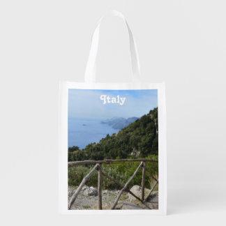 Path of Gods Amalfi Grocery Bags