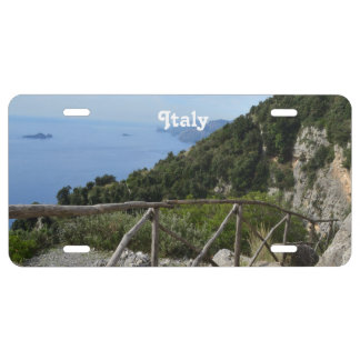 Path of Gods Amalfi License Plate