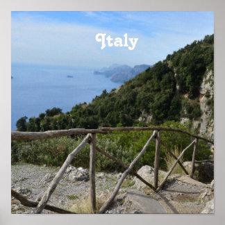 Path of Gods Amalfi Poster