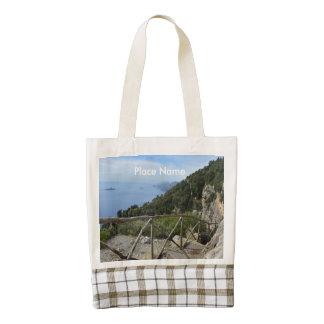 Path of Gods Amalfi Zazzle HEART Tote Bag