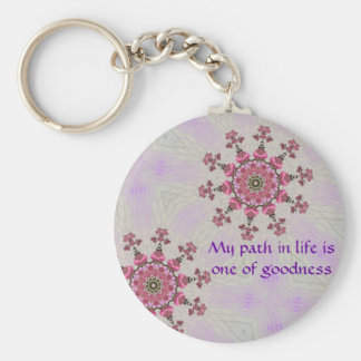 Path of goodness Key ring Key Chain
