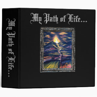 Path of Life 3 Ring Binder