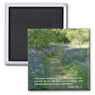 Path of Life - Bluebells | Magnet