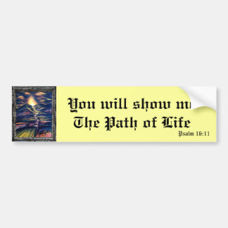 Path of Life Bumper Sticker