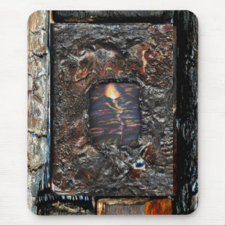 Path of Life Burnt Offering Mouse Pad