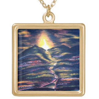 Path of Life Gold Plated Necklace