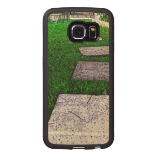 Path Of Life Wood Phone Case