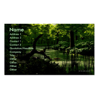 Path of Peacefulness Business Card Template