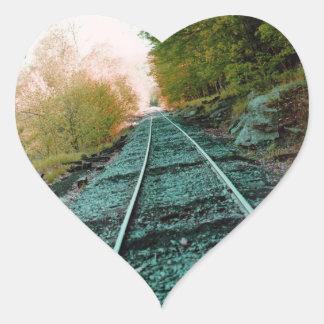 Path of Solitude Heart Sticker