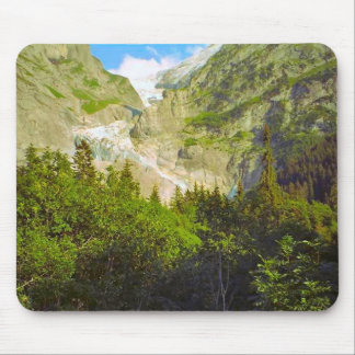 Path of the glacier mouse pad