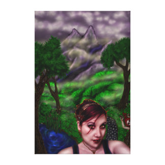 Path of the Vampire, huge wrapped canvas
