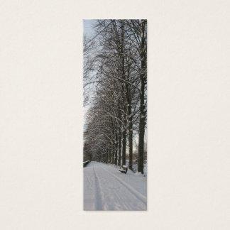 Path Snow Landscape Holland Photo Bookmark Card