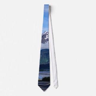 Path Through Alaska Neck Tie