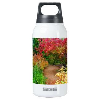 Path Through Autumn Insulated Water Bottle