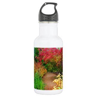 Path Through Autumn Stainless Steel Water Bottle