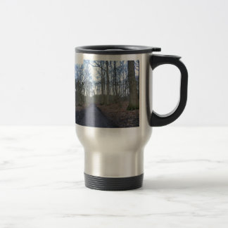 Path Through Delamere Forest in Cheshire Travel Mug