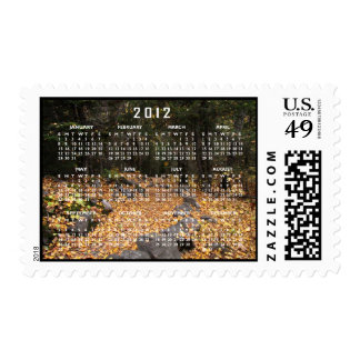 Path Through the Forest; 2012 Calendar Stamps