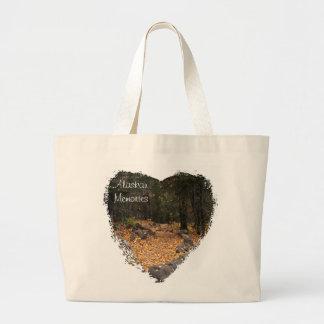 Path Through the Forest; Alaska Souvenir Bag