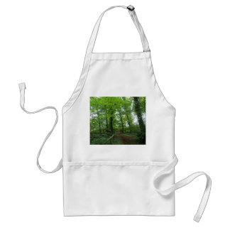 Path through the Green Forest Apron