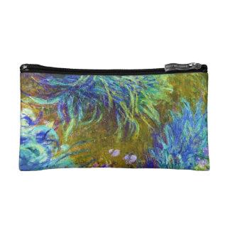 Path through the Irises Claude Monet Makeup Bag