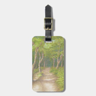 Path Through the Trees, Leith Hill Luggage Tag