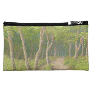 Path Through the Trees, Leith Hill, Surrey, Pastel Cosmetic Bags