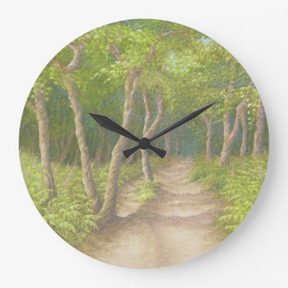 Path Through the Trees, Leith Hill Wall Clock
