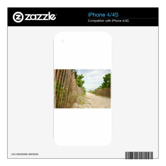 Path to Bliss on Florida Beach Skin For iPhone 4S