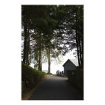 Path to boathouse restaurant in Fort Augustus Personalized Stationery