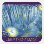Path to Faery Land Square Sticker
