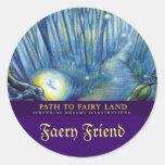 Path to Faery Land Sticker