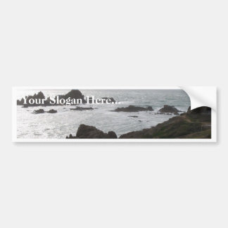 Path To La Corbiere Flooded With High Tide At Suns Bumper Sticker