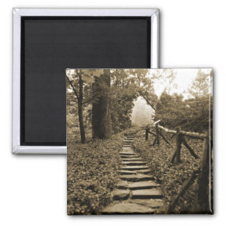Path To Light 2 Inch Square Magnet