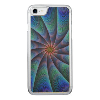 Path to meditation carved iPhone 7 case