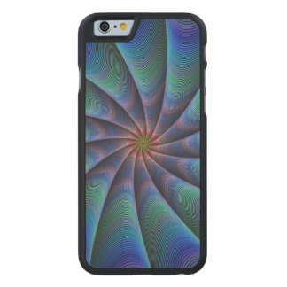 Path to meditation carved maple iPhone 6 slim case