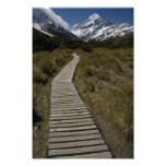 Path to Mount Cook Photo Print