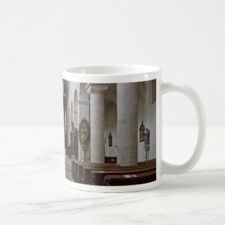 Path to peace Juses Schottenkirche St_Jakob Innenr Coffee Mug