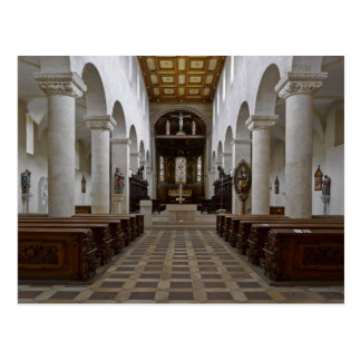 Path to peace Juses Schottenkirche St_Jakob Innenr Postcard