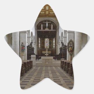 Path to peace Juses Schottenkirche St_Jakob Innenr Star Sticker