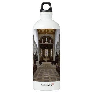 Path to peace Juses Schottenkirche St_Jakob Innenr Water Bottle