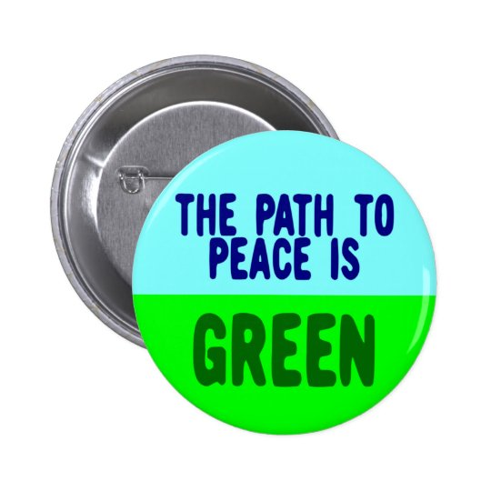 PATH TO PEACE PINBACK BUTTON