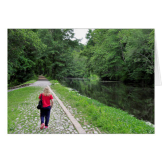 Path to Prosperity Greeting Card