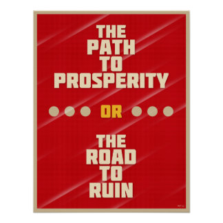 Path To Prosperity Poster