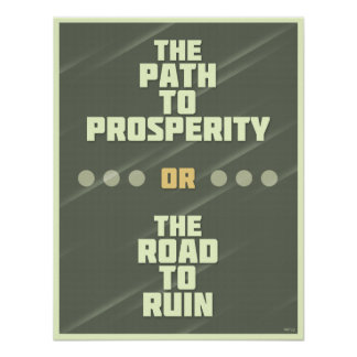 Path To Prosperity Posters