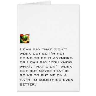 Path To Something Better Stationery Note Card