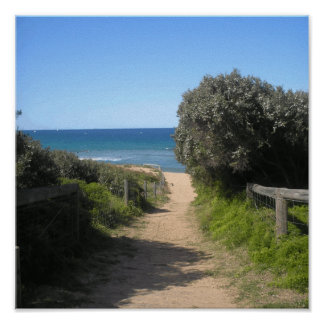 Path to the beach home & away sydney poster