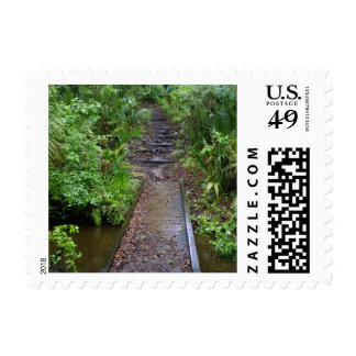 Path to the Enchanted Forest Postage Stamps